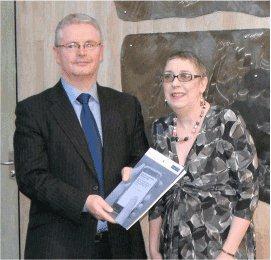 Leo Kearns and Janet Harrison