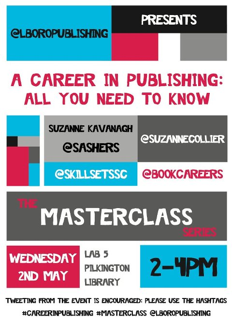 Publishing Masterclass: second session